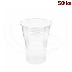 BIO plastový kelímek průhledný 0,5 l PLA (Ø 102 mm) [50 ks]