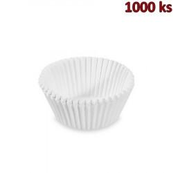 Cukrářské košíčky bílé Ø 40 x 24 mm [1000 ks]