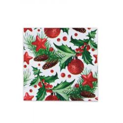 Vánoční ubrousky 3vrstvé 33x33 - motiv 84021 [20 ks]