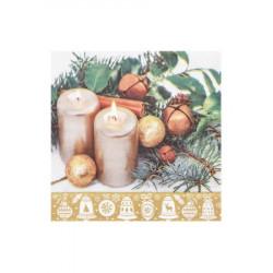 Vánoční ubrousky 3vrstvé 33x33 - motiv 84283 [20 ks]