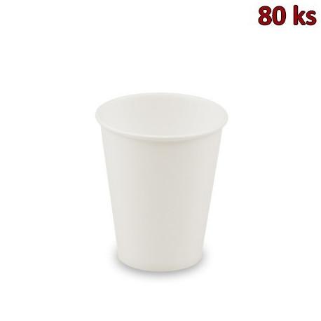 Papírový automatový kelímek bílý 0,15 l (Ø 70 mm) [80 ks]