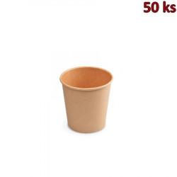 Papírový kelímek hnědý 110 ml XS (Ø 62 mm) [50 ks]