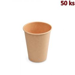 Papírový kelímek hnědý 420 ml L (Ø 90 mm) [50 ks]