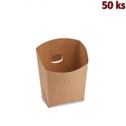 Bistro kapsa, hnědá, 100 g, nepromastitelná [50 ks]