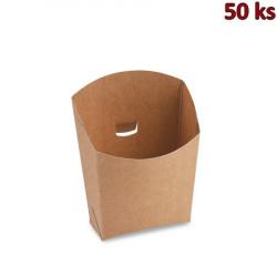 Bistro kapsa, hnědá, 150 g, nepromastitelná [50 ks]