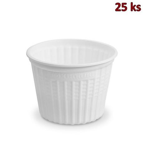 """Termo-miska """"airpac"""" kulatá bílá 500 ml, Ø 11,5 cm [25 ks]"""
