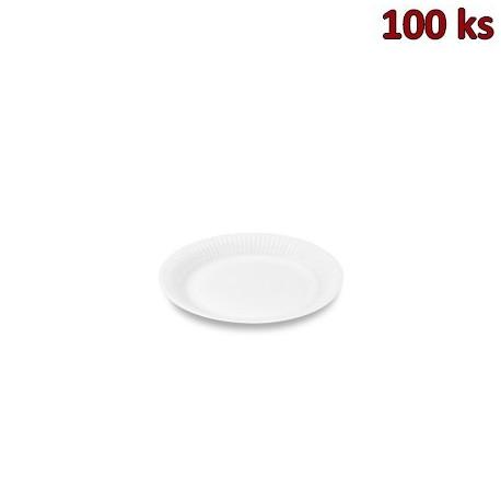 Papírový talíř mělký Ø 15 cm [100 ks]