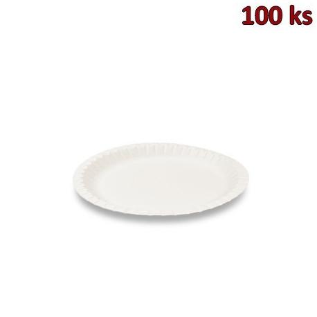 Papírový talíř mělký Ø 23 cm [100 ks]