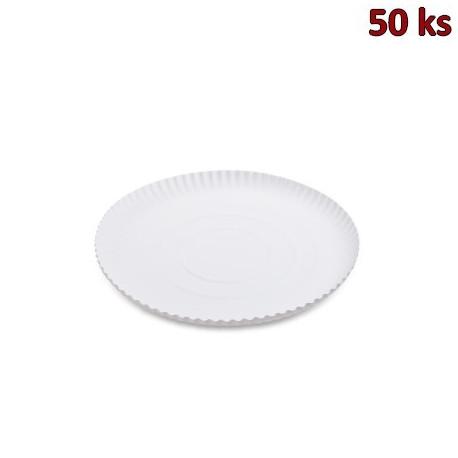 Papírový talíř hluboký Ø 26 cm [50 ks]
