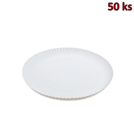Papírový talíř hluboký Ø 30 cm [50 ks]