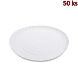 Papírový talíř hluboký Ø 34 cm [50 ks]