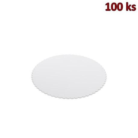 Lepenková podložka pod dort Ø 25 cm [100 ks]