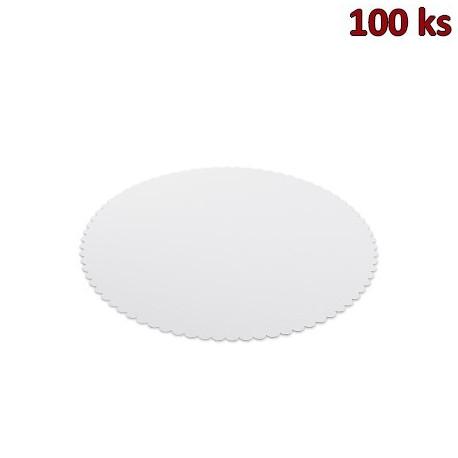 Lepenková podložka pod dort Ø 30 cm [100 ks]