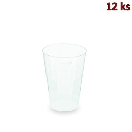 Kelímek vratný na koktejl (PP) extra pevný 0,2 l [12 ks]