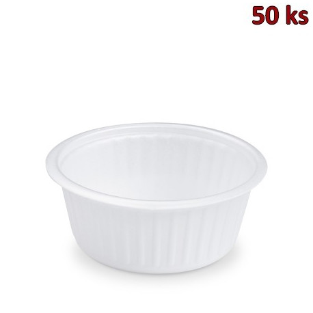 Termo-miska kulatá bílá 350 ml (XPS) [50 ks]