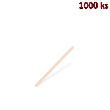 Míchačka na kávu ze dřeva 11 cm [1000 ks]