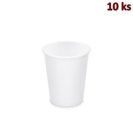 Papírový kelímek bílý 280 ml, M (Ø 80 mm) [10 ks]