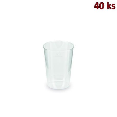 Kelímek vratný 0,1 l (PP) [40 ks]