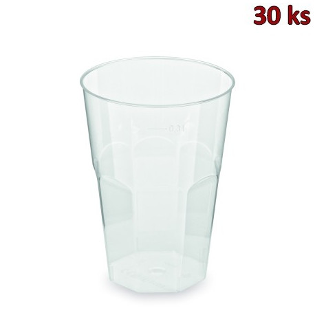 Kelímek vratný na koktejl 0,3 l (PP) [30 ks]