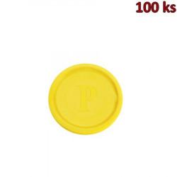 Žeton žlutý [100 ks]