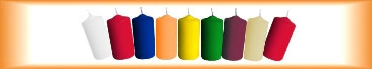 Adventní svíčky válcové