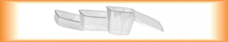 Plastové misky hranaté