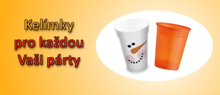 Kelímky pro každou vaši párty